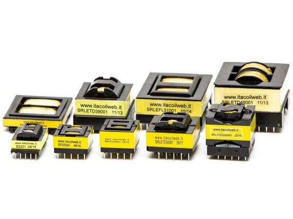 Trasformatori Itacoil per convertitori risonanti LLC con induttanza integrata